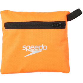 speedo Pool Bag 15l Black/Fluo Orange
